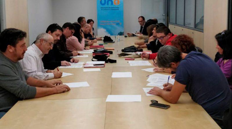 Firmado el nuevo convenio de Logística y Paquetería de Madrid