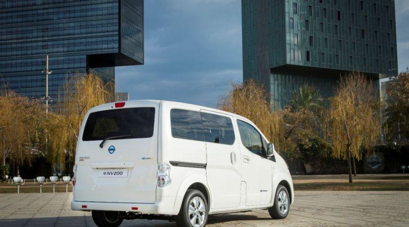 Récord de matriculaciones de la furgoneta Nissan e-NV200 en el mercado español