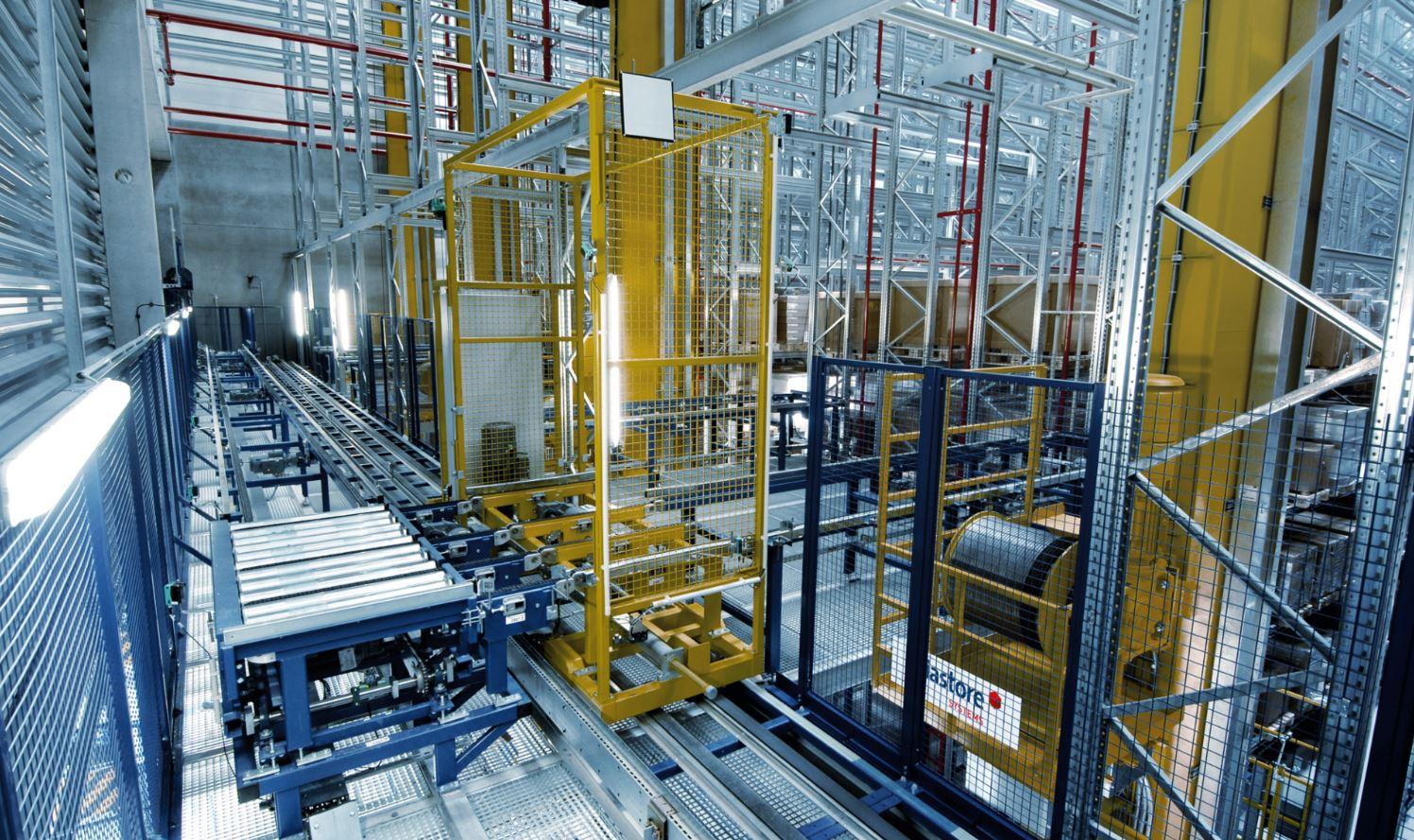Soluciones de intralogística de viastore para empresas de producción ...