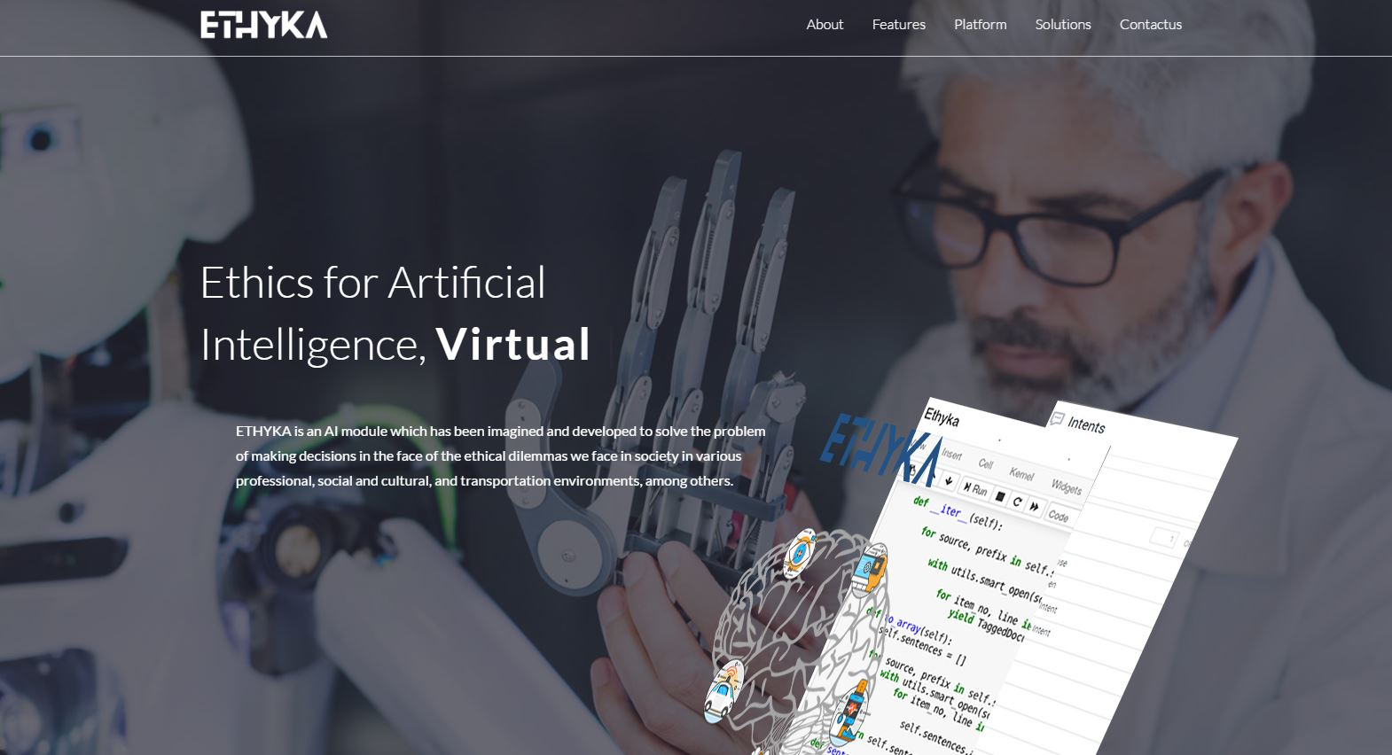 Image result for Ethyka offers artificial intelligence
