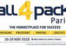 Las startups en los sectores del embalaje e intralogística comparten su creatividad e innovaciones en ALL4PACK París 2018