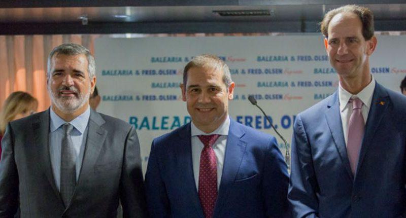 Baleària y Fred. Olsen Express comienzan a operar en la ruta entre Huelva y Canarias