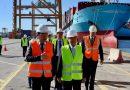 Valenciaport y el puerto chino de Tianjin promueven una plataforma tecnológica