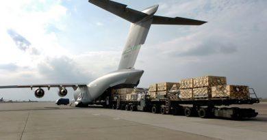 Crecimiento modesto del sector de carga aérea en octubre