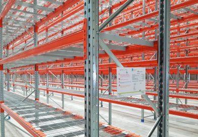 Dokument Logistik ha confiado en AR Racking para su almacén de alta seguridad de gestión de datos en Senec, Eslovaquia
