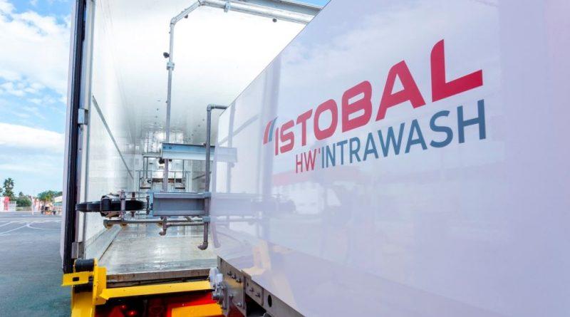 ISTOBAL lanza HW'INTRAWASH, el primer equipo automático para el lavado interior y desinfección de camiones