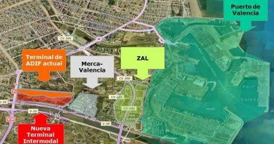 El Puerto de Valencia, ADIF, la Generalitat y Fomento aportan 67 millones de Euros para el lanzamiento del proyecto intermodal de la Font de Sant Lluís