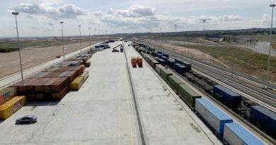 Adif licita el arrendamiento de una parcela en la Terminal de Mercancías de Noain (Navarra)