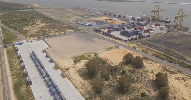 El Puerto de Huelva pone en servicio un nuevo tren semanal de contenedores entre Madrid y el Muelle Sur