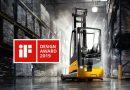 La carretilla retráctil ETV216i de Jungheinrich gana el prestigioso premio iF Design Award 2019