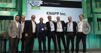 KNAPP recibe Premio a la Innovación HMI estadounidense