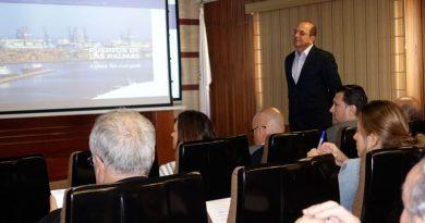 Los Puertos de Las Palmas estrenan una nueva Web de información de los buques en puerto