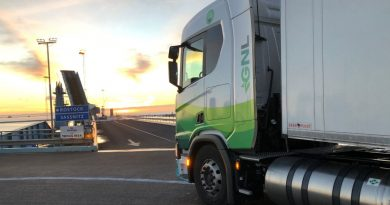 De Castellón a Estocolmo en un camión de Scania 410 de GNL