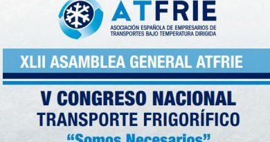 El sector español del transporte de mercancías por carretera, los fabricantes de vehículos industriales apoyan el Congreso de Atfrie
