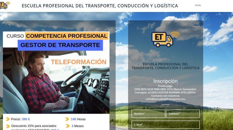 Fenadismer lanza una plataforma de teleformación para el transporte por carretera