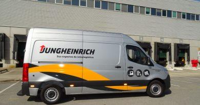 Jungheinrich plantea el cambio tecnológico y organizacional y se postula como referente en materia de Li-Ion en un evento en petit comité