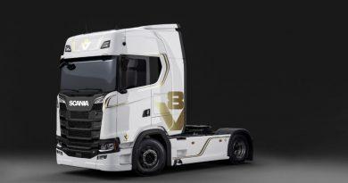 Scania celebra el 50º aniversario del V8 con una edición limitada