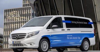 Inicio de ventas de la furgoneta eléctrica eVito de Mercedes-Benz