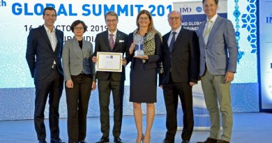 Dachser gana el Premio IMD Global Family Business 2019
