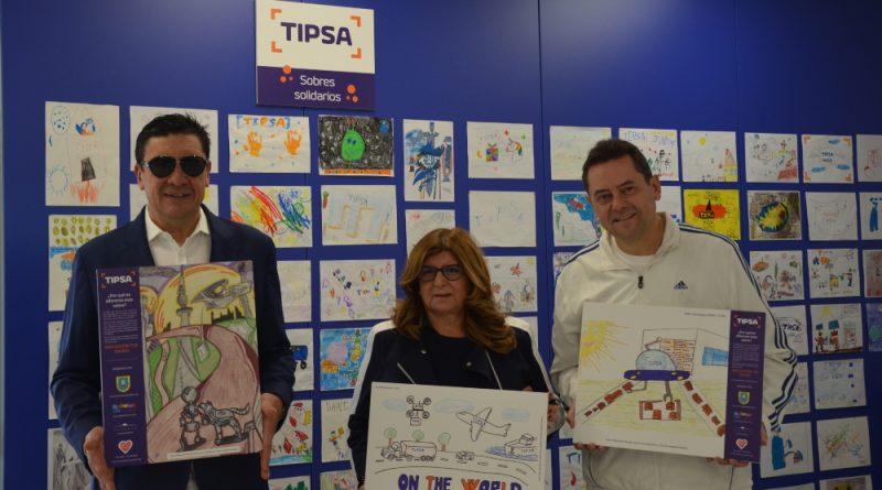 TIPSA repartirá más de 800.000 sobres solidarios durante la campaña de Navidad