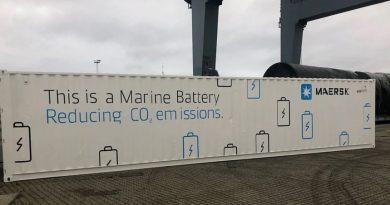 Maersk inicia la electrificación de su flota naviera con uso de baterías
