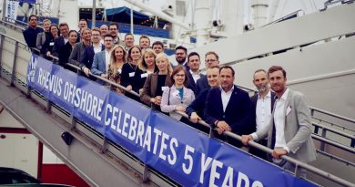 Rhenus Offshore Logistics celebra su quinto aniversario