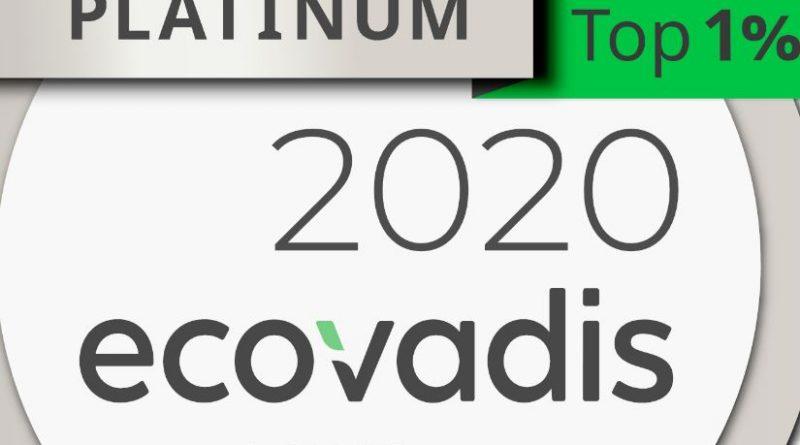 Toyota Material Handling Europe obtiene el galardón Ecovadis Platinum