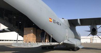 Airbus, Bolloré y WFS se unen para entregar dos millones de mascarillas a Francia y España