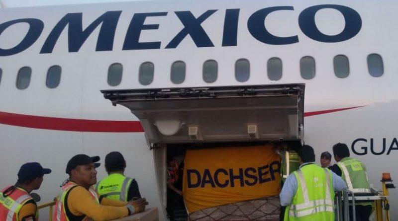 Dachser México transporta más de 3 millones de mascarillas quirúrgicas y respiratorias a Alemania