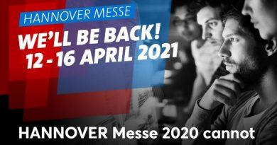 Se cancela la Feria de Hannover 2020