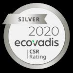 """Medalla de """"Plata"""" para el grupo AsstrA de parte de EcoVadis"""