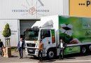 Un camión eléctrico MAN para Friedrich Wenner GmbH: un vehículo limpio y silencioso