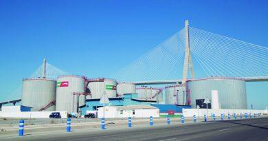 El tráfico portuario crece un 14,36 por ciento en la Bahía de Cádiz
