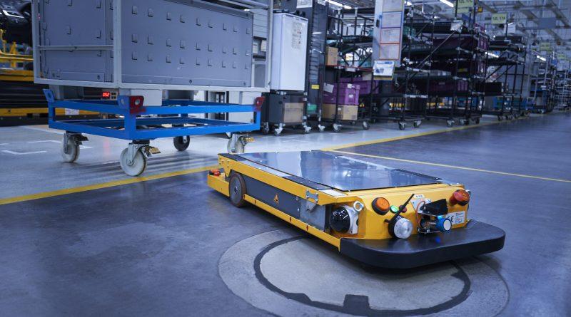 Los robots de logística de BMW Group, más rápidos e inteligentes