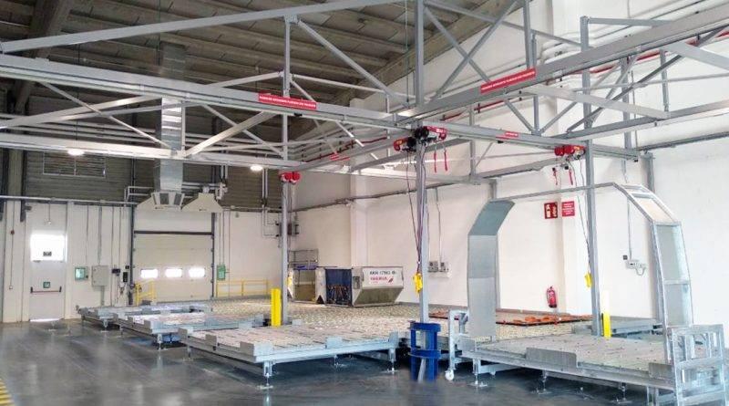 JHernando instala para Correos un nuevo sistema de paletización de carga aérea