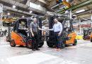 Relevo generacional en las carretillas contrapesadas de Linde Material handling