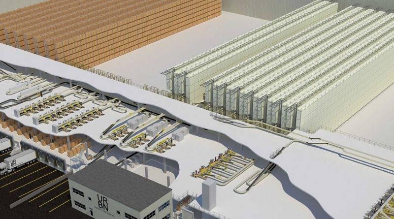 TGW instala un Centro de distribución automatizado para Urban Outfitters