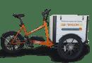 El triciclo de WagonGO,  envíos sostenibles de hasta 100 kilos en la última milla