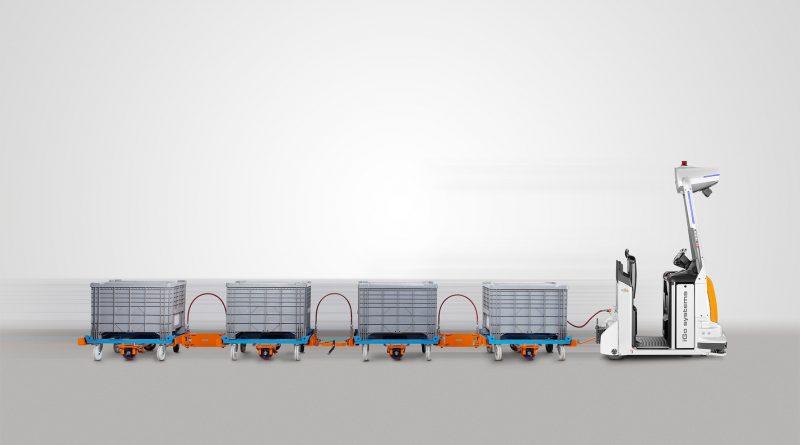 Los sistemas de trenes de remolque automatizados garantizan eficiencia, ergonomía y valor añadido