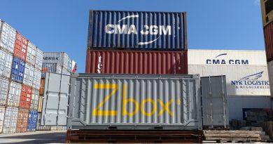 Navlandis lanza el contenedor plegable Zbox para su uso en operaciones logísticas