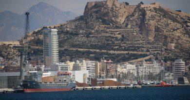 El tráfico portuario desciende un 5,5% en octubre