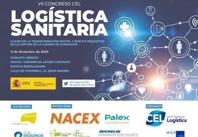 El VII Congreso de Logística Sanitaria será el 11 de diciembre en formato híbrido
