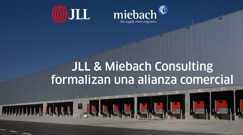 JLL y Miebach Consulting formalizan una alianza comercial estratégica