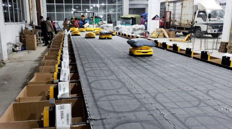 Los robots de clasificación «Mini Yellow» ayudan a ZTO a satisfacer las demandas del «Día del Soltero»