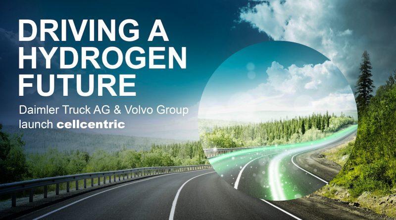 Daimler Truck AG y el Grupo Volvo apuestan por las pilas de combustible de hidrógeno