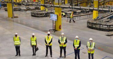 El nuevo centro logístico robotizado de Amazon en Murcia creará más de 1.200 empleos fijos en la región