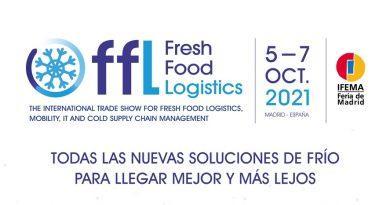 Fresh Food Logistics, el nuevo evento internacional especializado en soluciones para la cadena de frío alimentaria