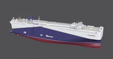 Volkswagen sigue implementando una logística baja en emisiones con buques GNL