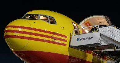 Aerosan cierra alianza DHL Aviation para la atención de sus cargueros