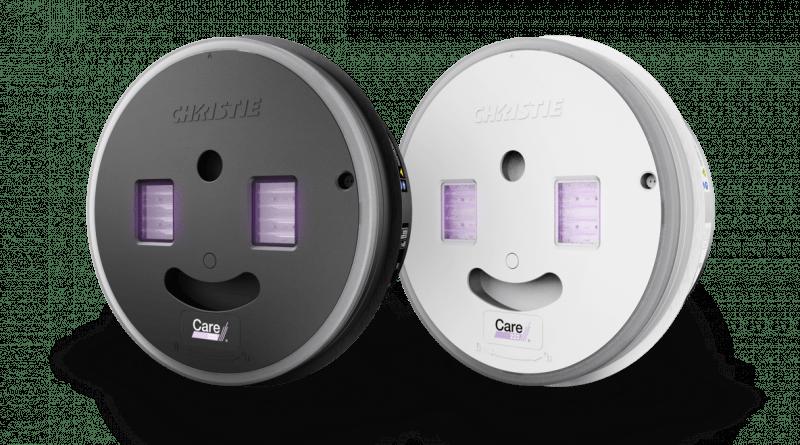 Christie prepara la producción de CounterAct con Care222, la tecnología para desinfectar con filtros de radiación far-UVC